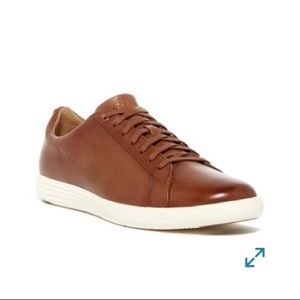 Cole Haan Brown leather sneakers